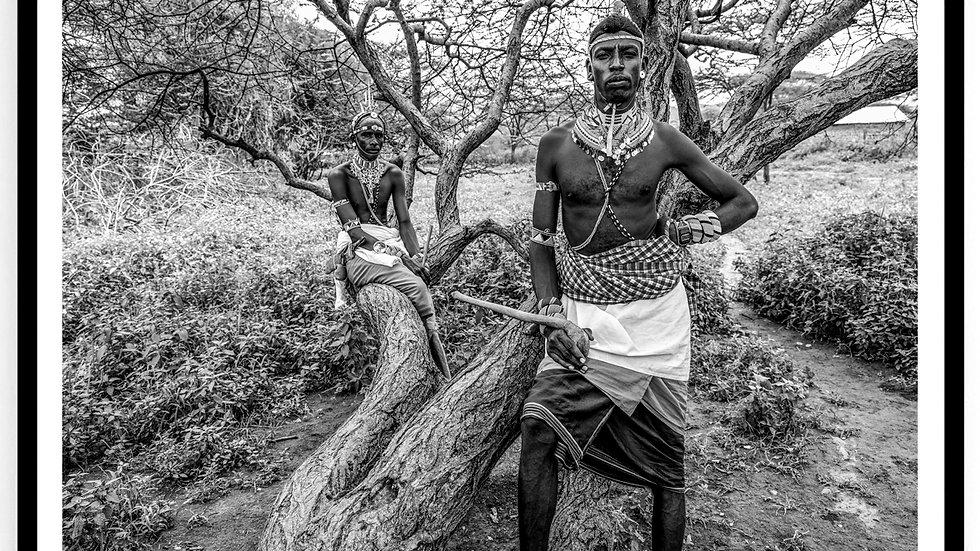 Moran Dancers, Africa, 2018. Fine Art Print. 60 x 80 cm. Edition 10.