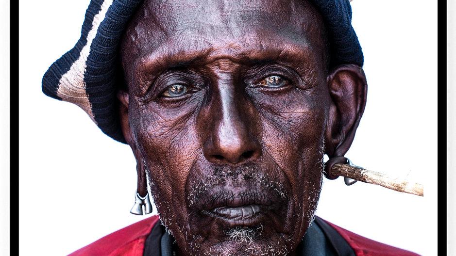 Samburu Man, Africa, 2018. Fine Art Print. 80 x 60 cm. Edition 10.