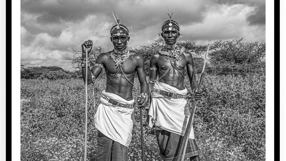 Moran Dancers, Africa, 2018. Fine Art Print. 80 x 60 cm. Edition 10.