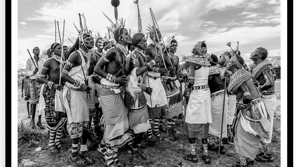 Samburu Wedding, Africa, 2018. Fine Art Print. 60 x 80 cm. Edition 10.