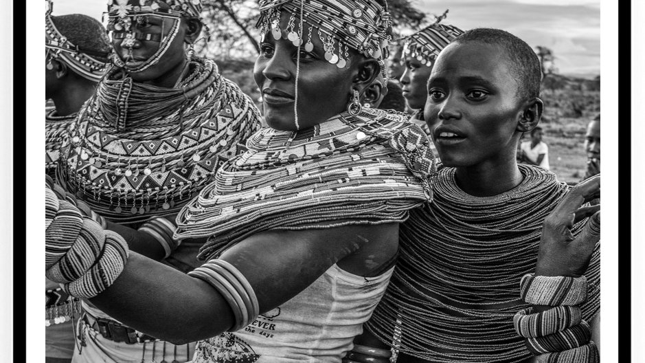 Samburu, Wedding Ceremony, 80 x 60 cm, Africa, 2018.Fine Art Print.