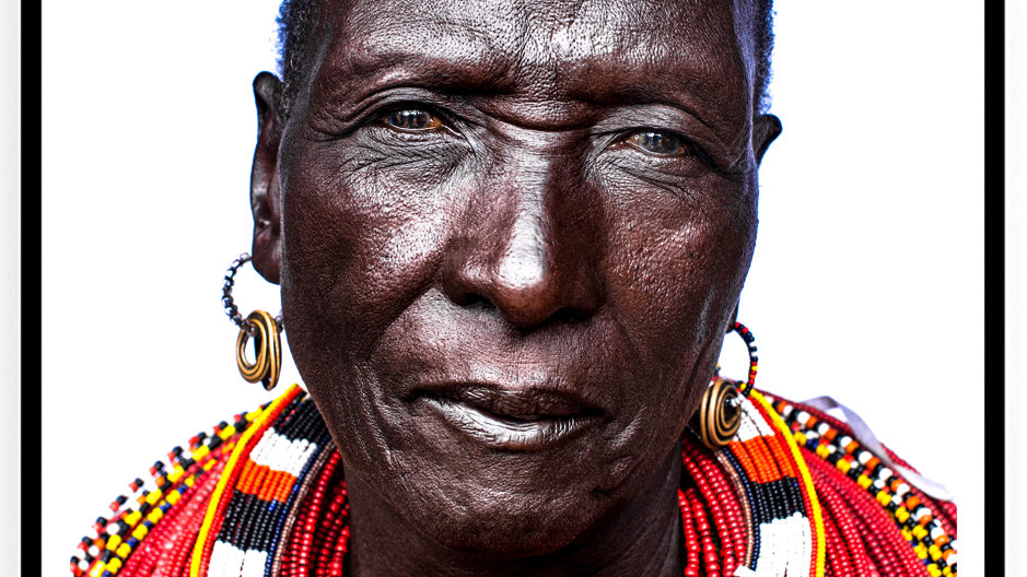 Samburu Woman, Africa, 2018. Fine Art Print. 80 x 60 cm. Edition 10.