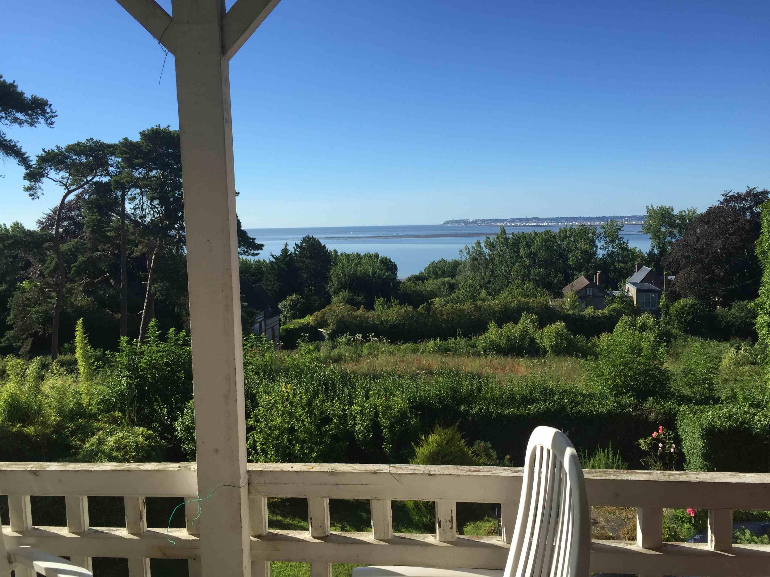 Belle propriété vue mer Trouville