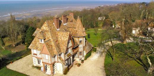 Vente château face mer - Deauville