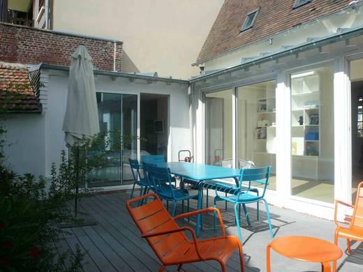 Maison centre Deauville Terrasse