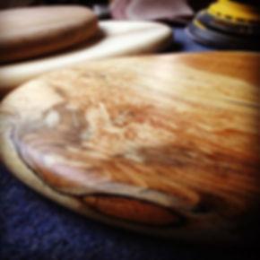 Spalted beech board