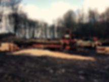 The sawmill on location