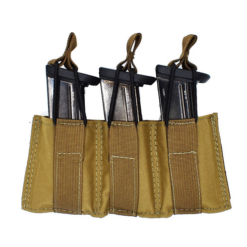 Triple Speed Load Pistol Magazine Pouch