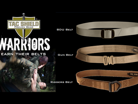 Tac Shield Tactical Gun Belts