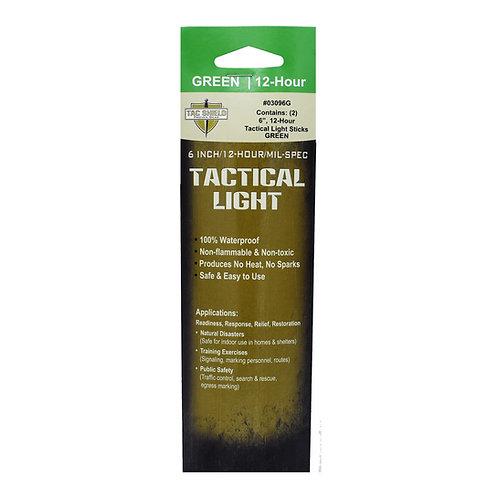 Tactical 12 Hour Light Stick - Green - 2-Pack