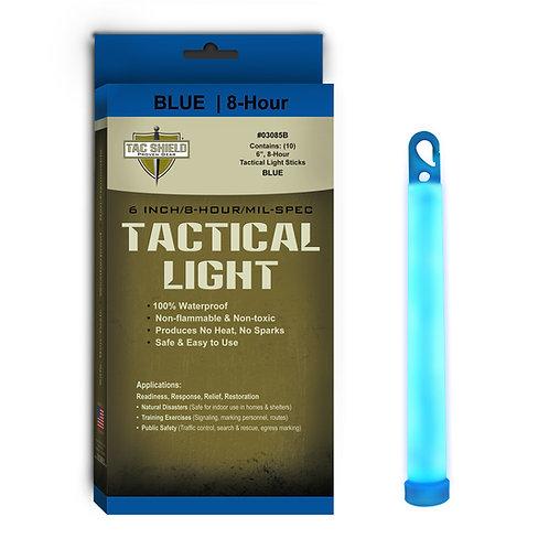 Tactical Light Stick - Blue - 10 Pack