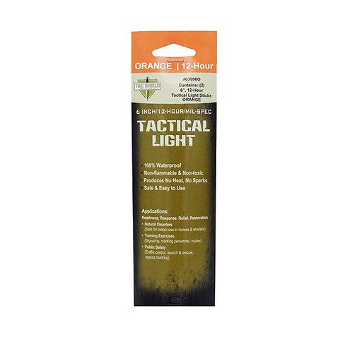 Tactical 12 Hour Light Stick - Orange - 2-Pack