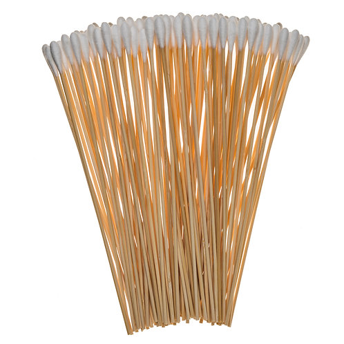 Cotton Gun Cleaning Swabs - 100 Pack