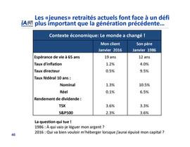 L'influence du taux d'inflation et des taux d'intérêts sur la retraite
