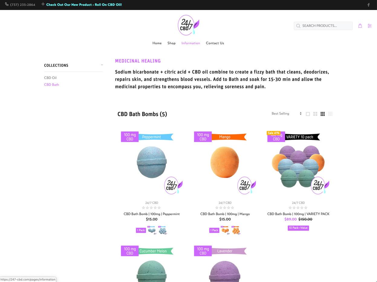 247-CBD Products