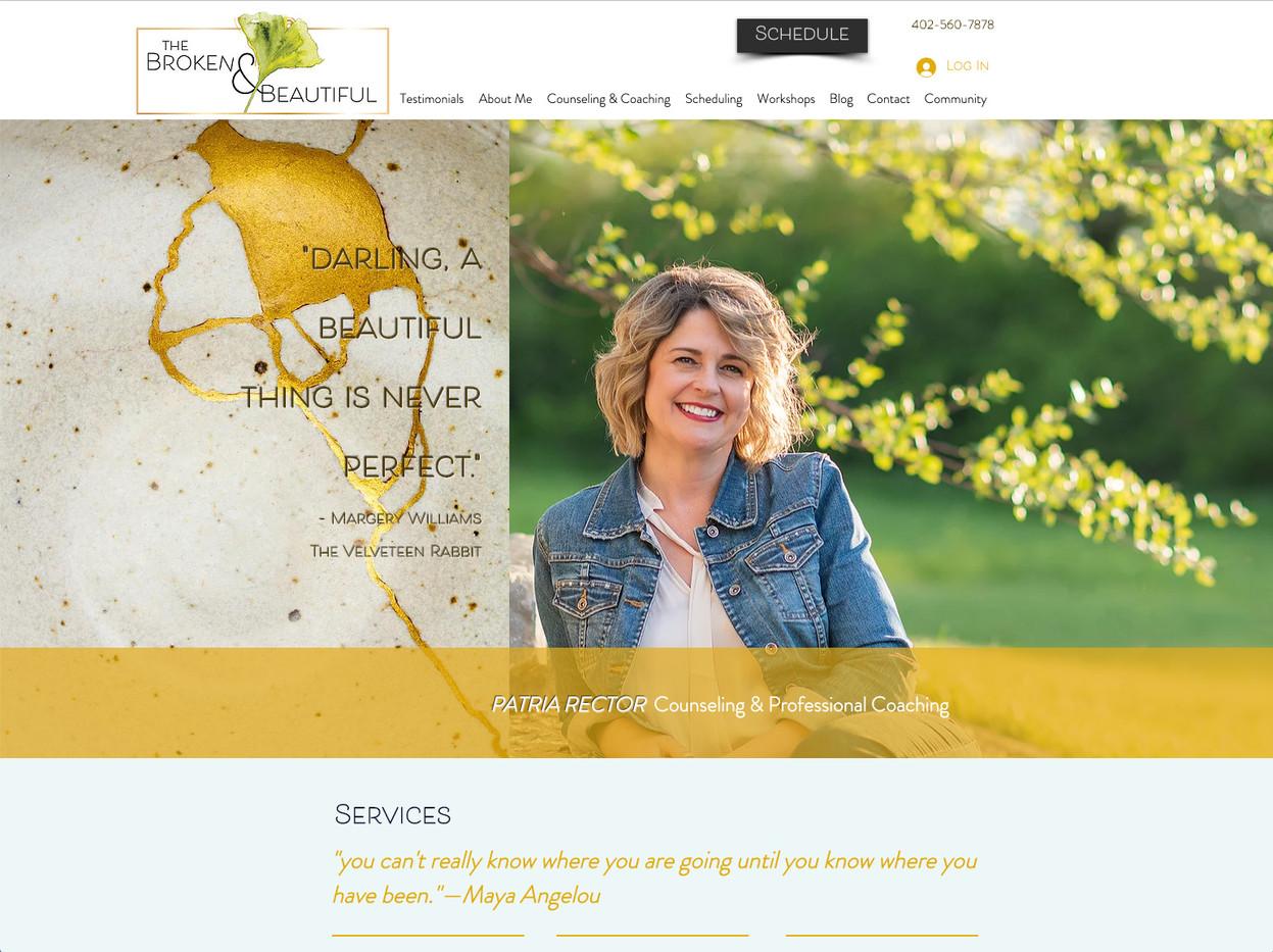 Broken & Beautiful Website