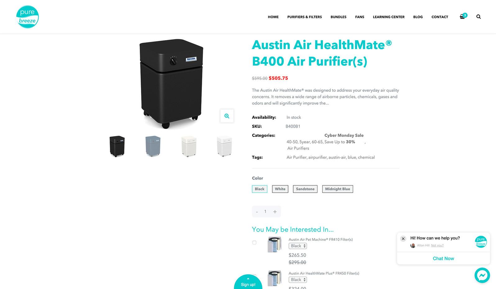 PureBreeze Products