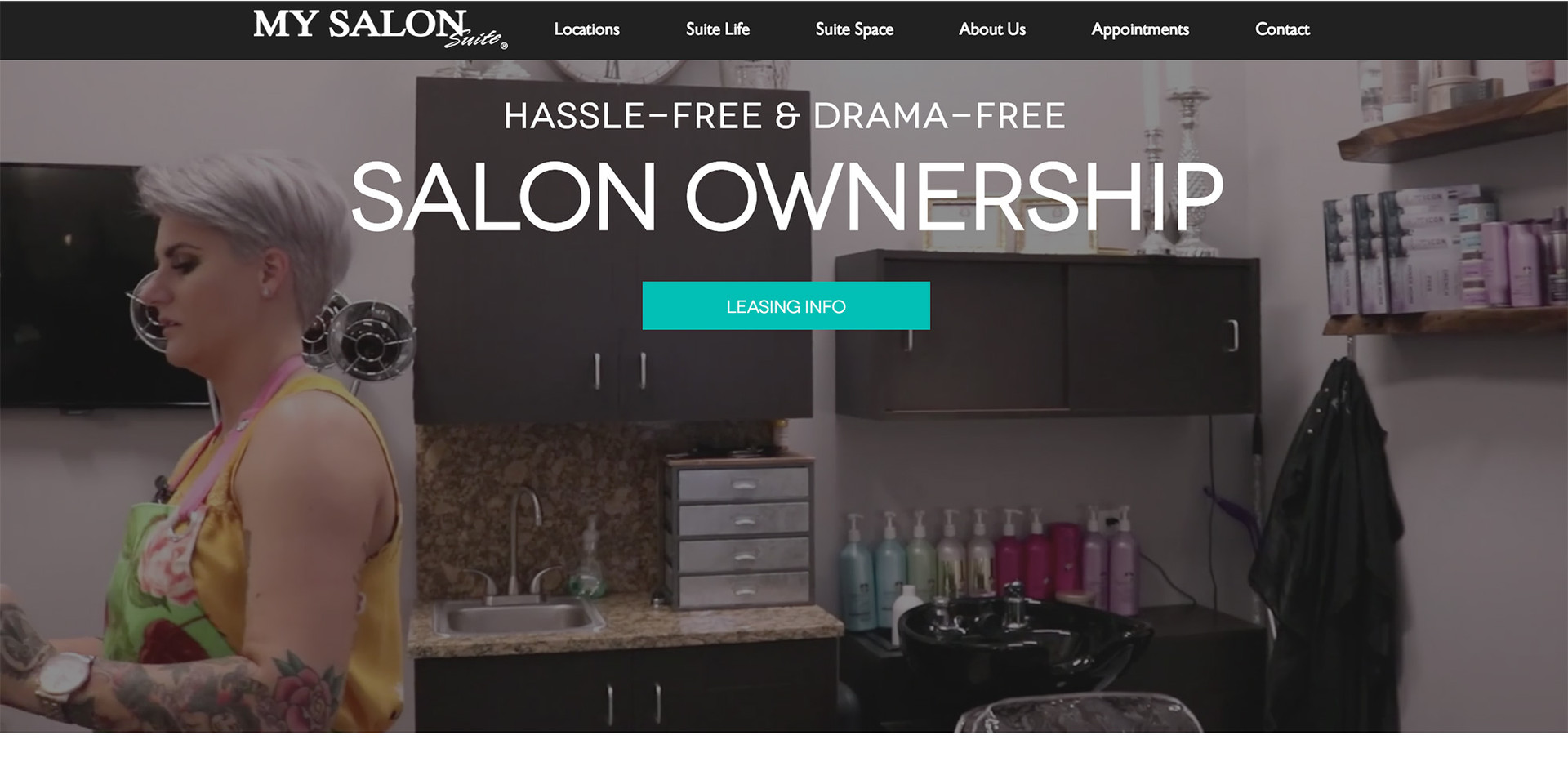 My Salon Suite Austin Home Page