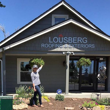 LOUSBERG Roofing & Exteriors Office