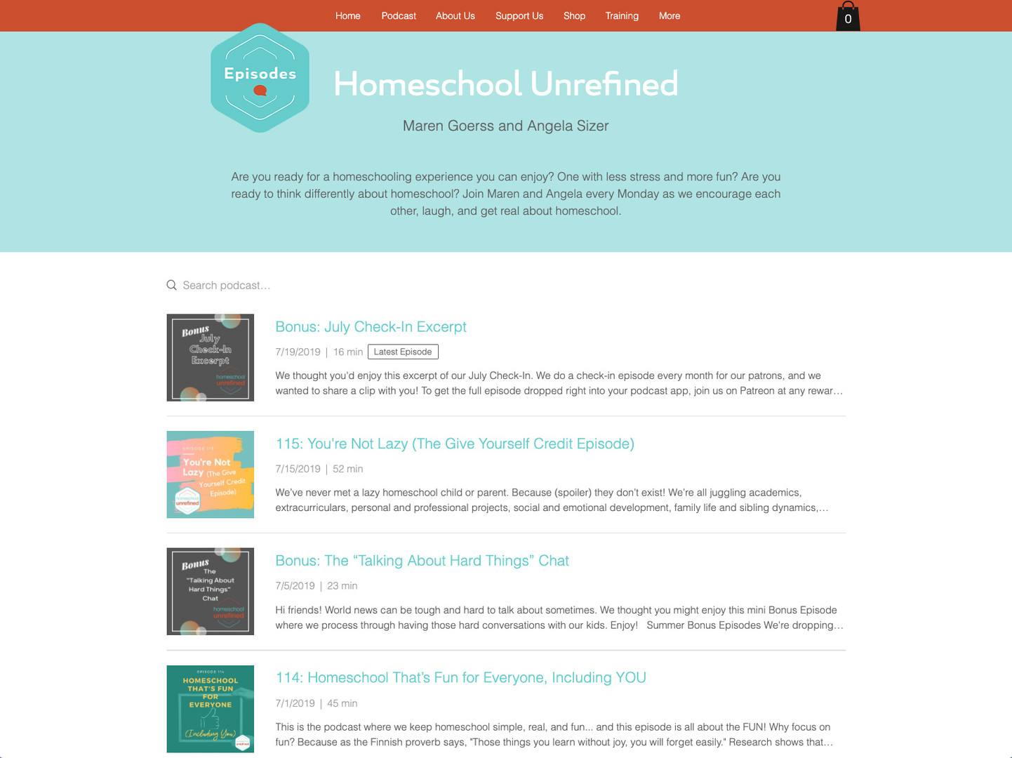 Homeschool Unrefined