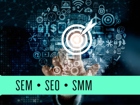 The difference between SEM, SEO & SMM in Digital Marketing