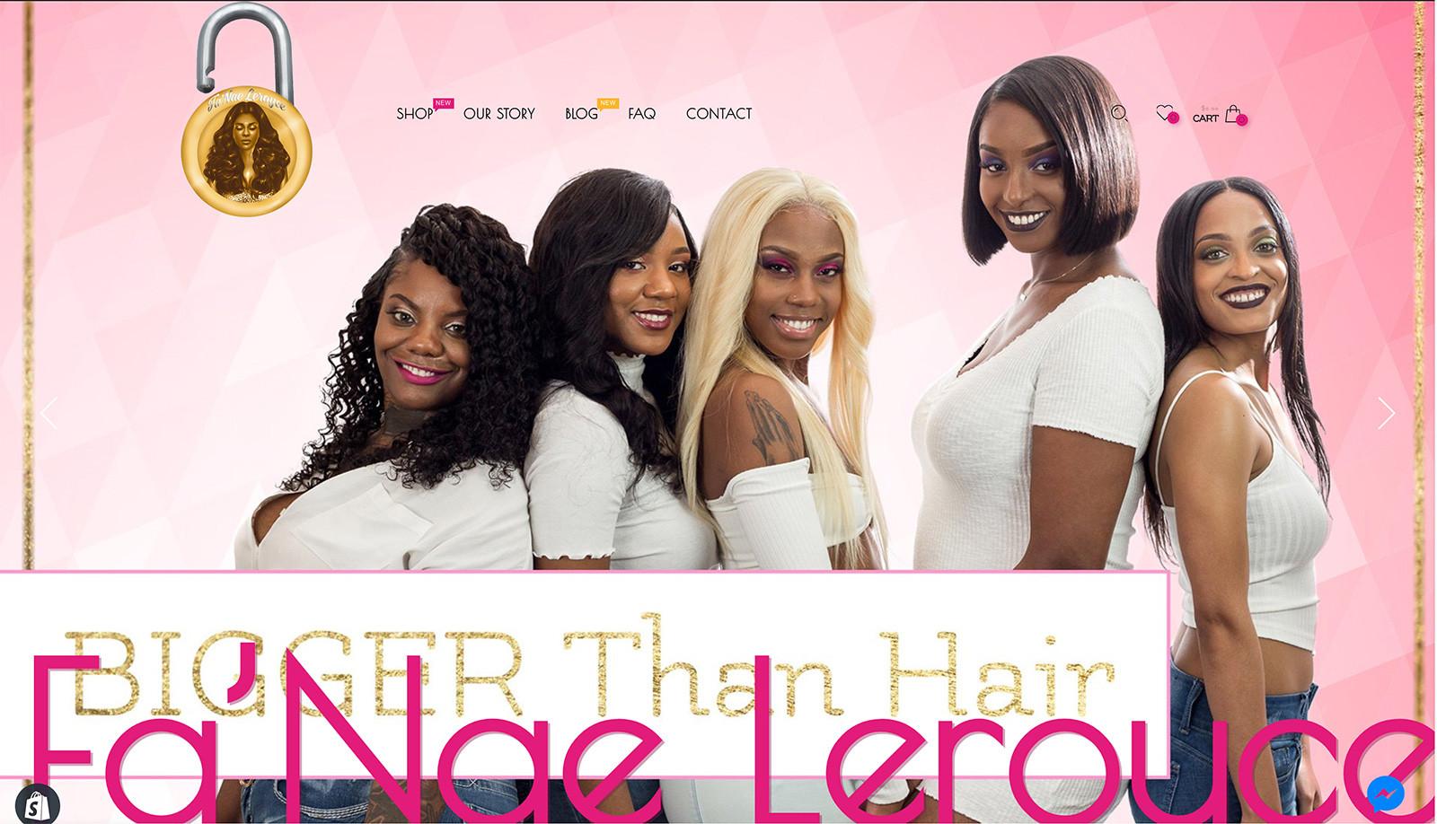 Fa'Nae Leroyce Home Page