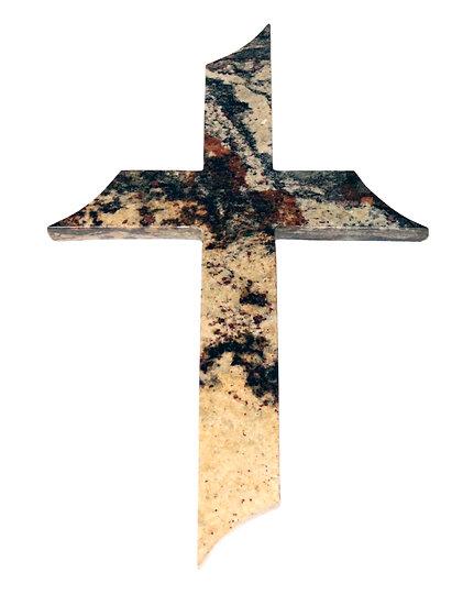 Lotus Granite Cross