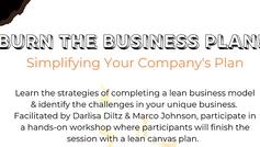 Burn the Business Plan!