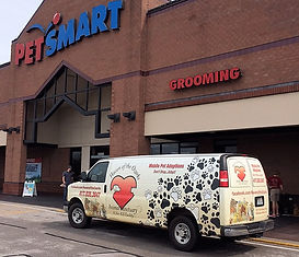 Mobile adoptions at Petsmart