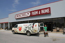 Mobile adoptions at Orscheln's in Republic by Haven of the Ozarks animal shelter a no-kill facility