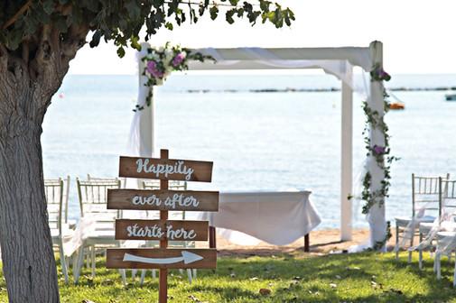Beach wedding Paphos