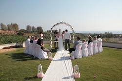 Villa wedding in Papfos Cyprus 2016