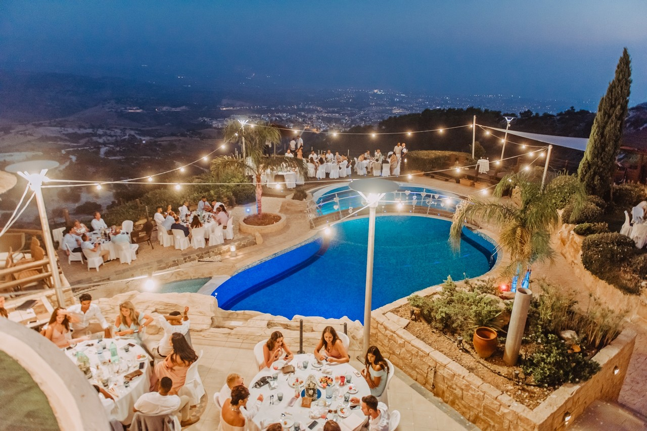 Panorama wedding villa Paphos Cyprus