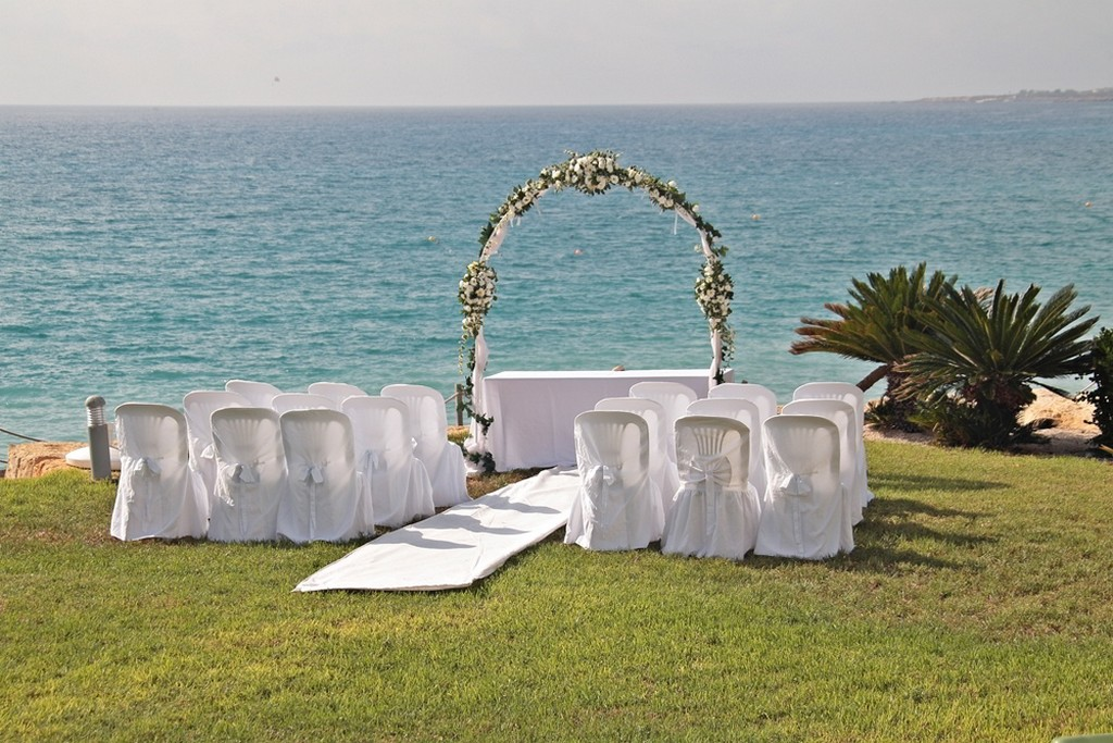 Villa wedding in Pafos Cyprus