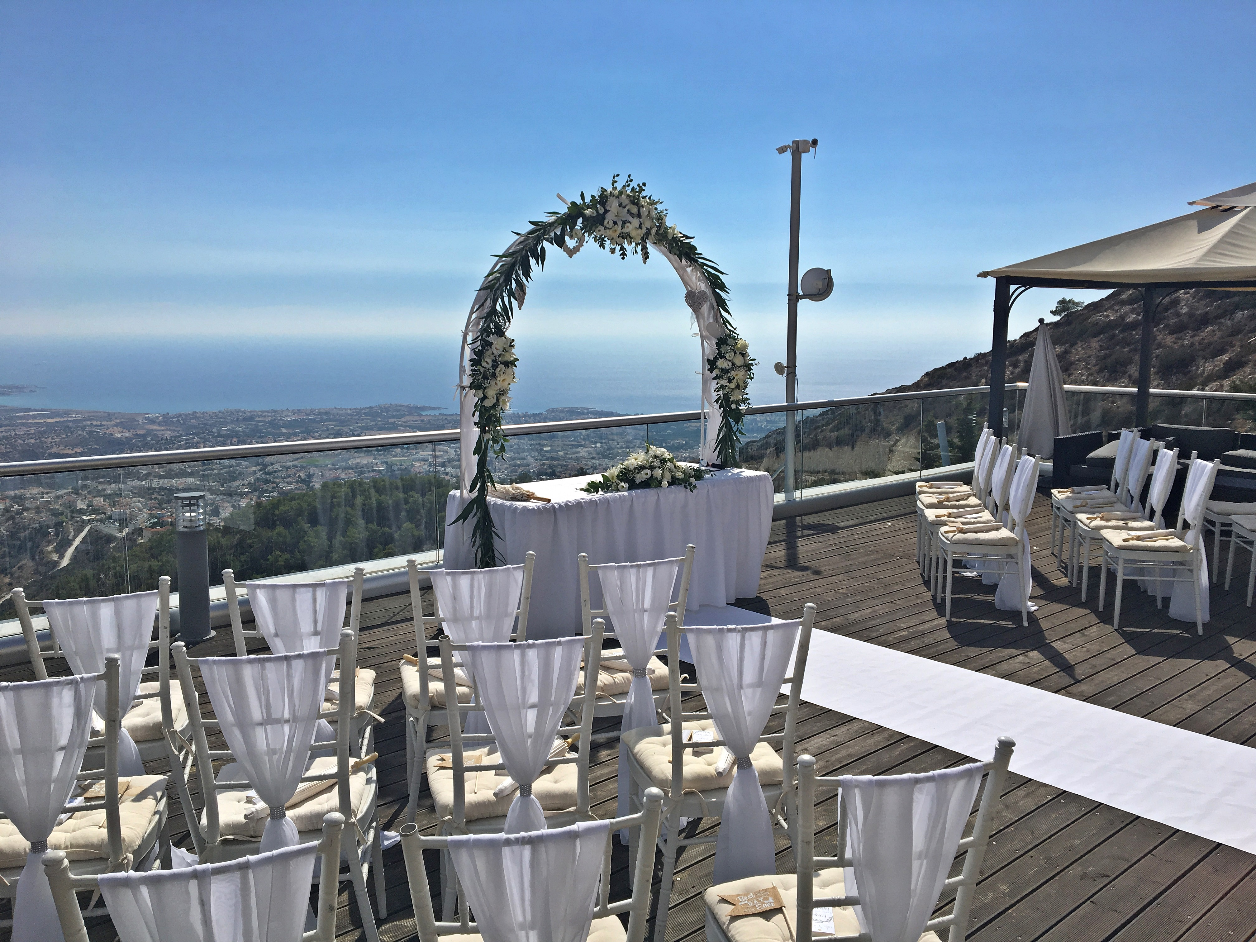 Cyprus villa weddings Oceania Panorama