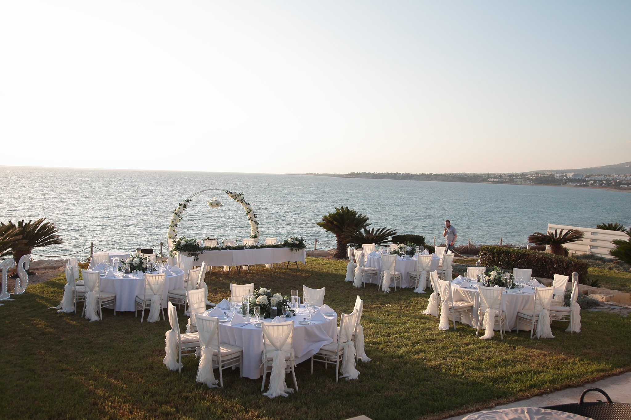 Beach villa wedding Paphos Cyprus