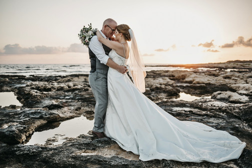 Beach wedding atlantida