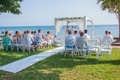 Atlantida Beach Wedding Venue Paphos Cyprus