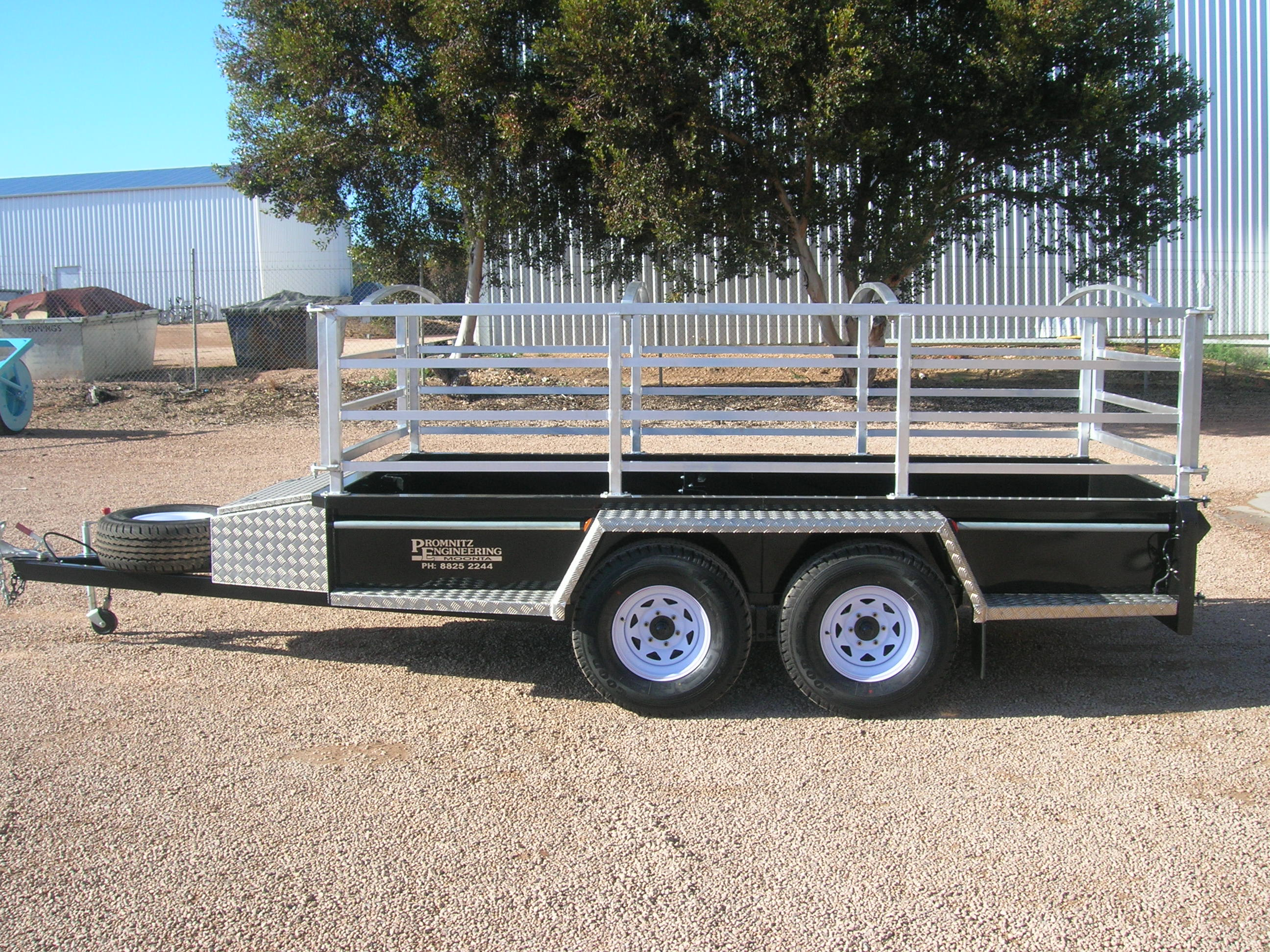 Extension Side for Trailer