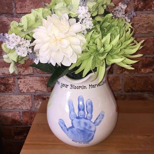 jug Hand and foot prints