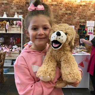 Build your own bear - The Pink Parachute
