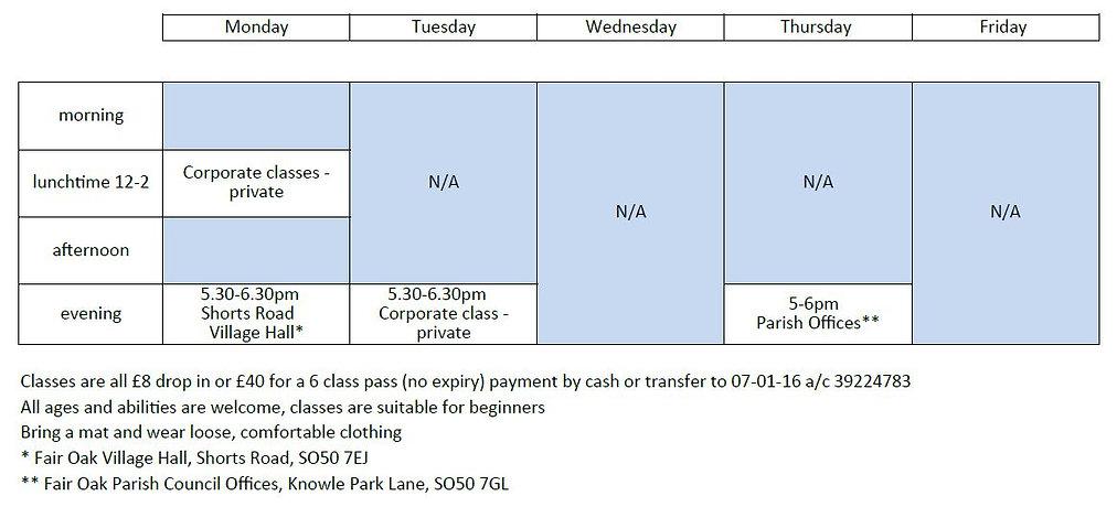 Timetable 19 July 2019.JPG