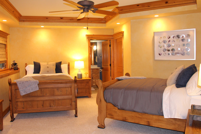 DOUBLE BEDS WITH PRIVATE BATH