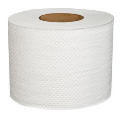 2-ply White Pure cellulose Bathroom Tissue
