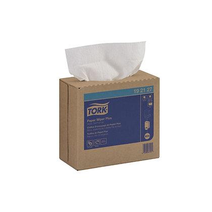Tork® Advanced Wipers Pop-Up 100 Pkg 9.5W x 16.5L 1Ply Med-Duty
