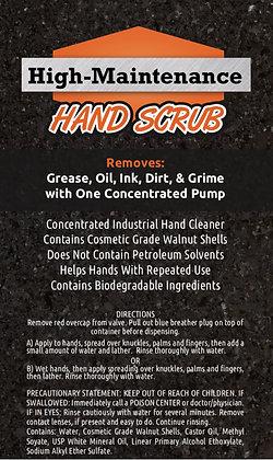High Maintenance Hand Scrub