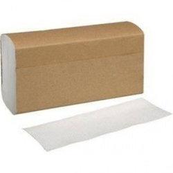 White Multifold Towel