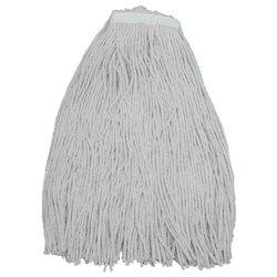 20 Oz White/Natural Cotton Wet Mop Head