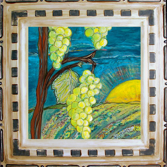 White Grapes with Sun ~ $150