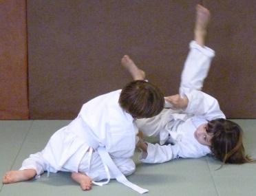 Cours d'aïkido club de Sainte Foy